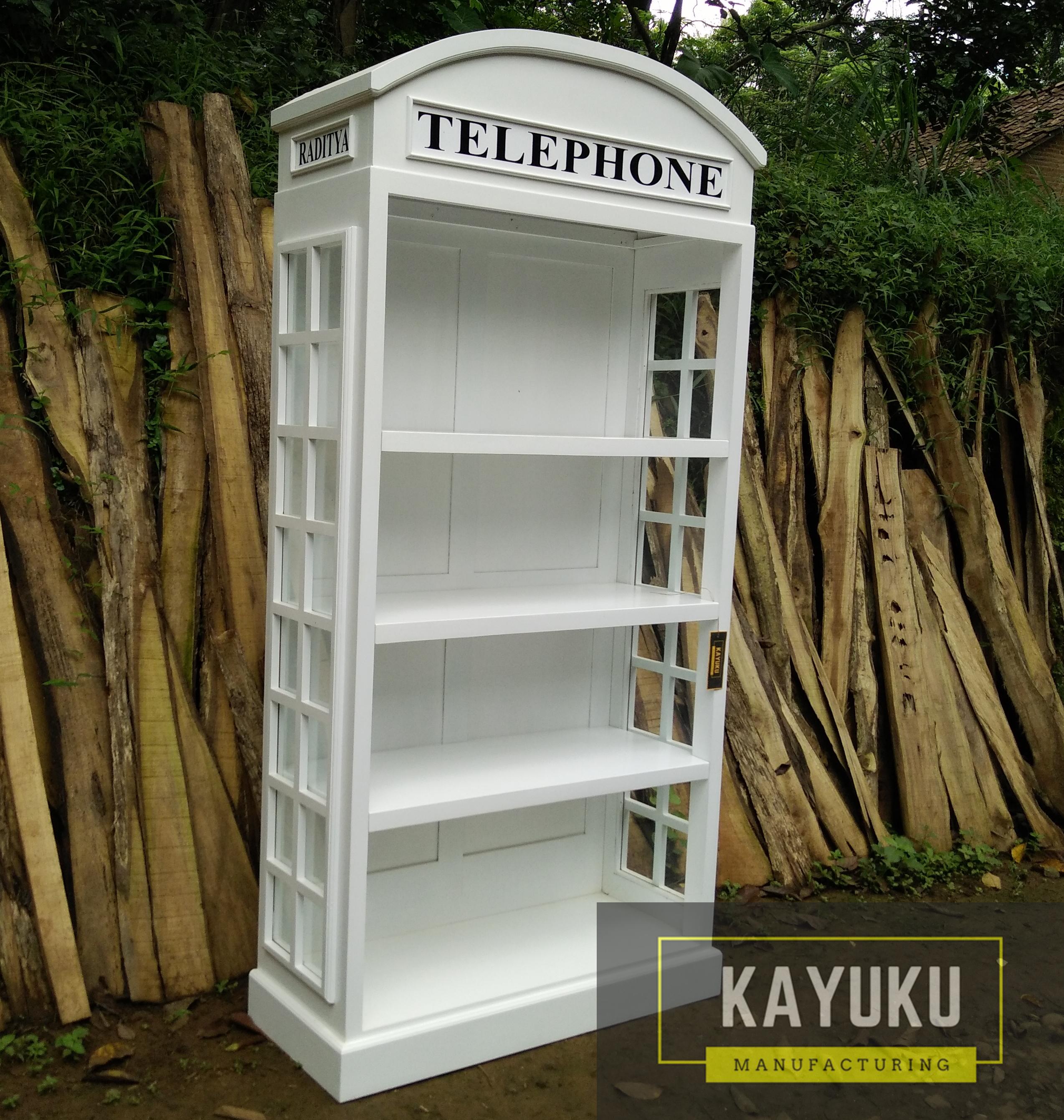 Lemari Buku Telehphone