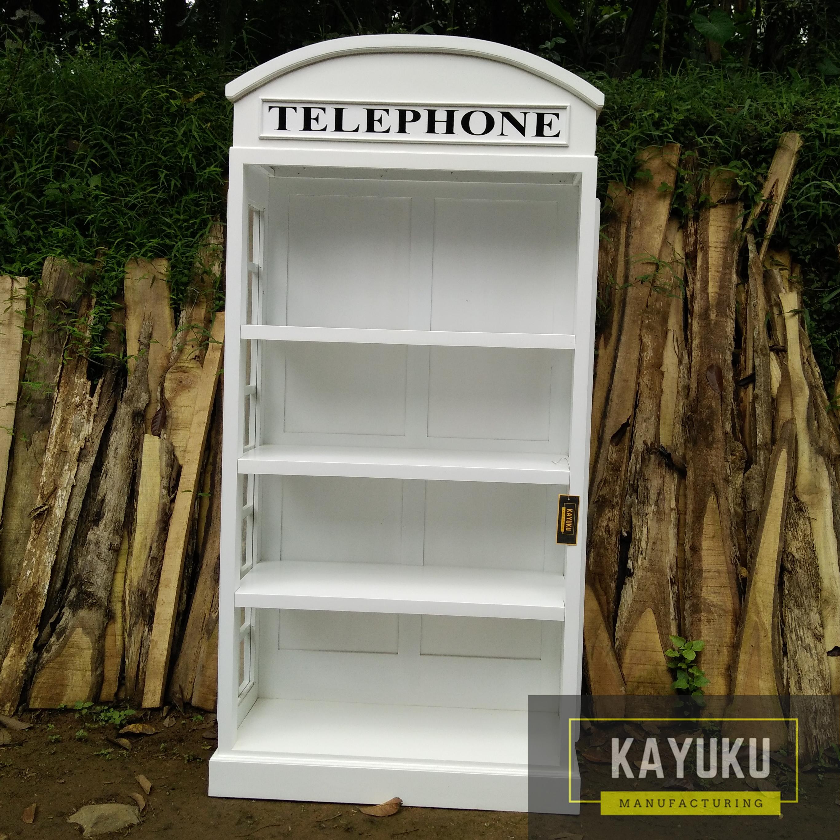 Lemari Buku Telephone 2