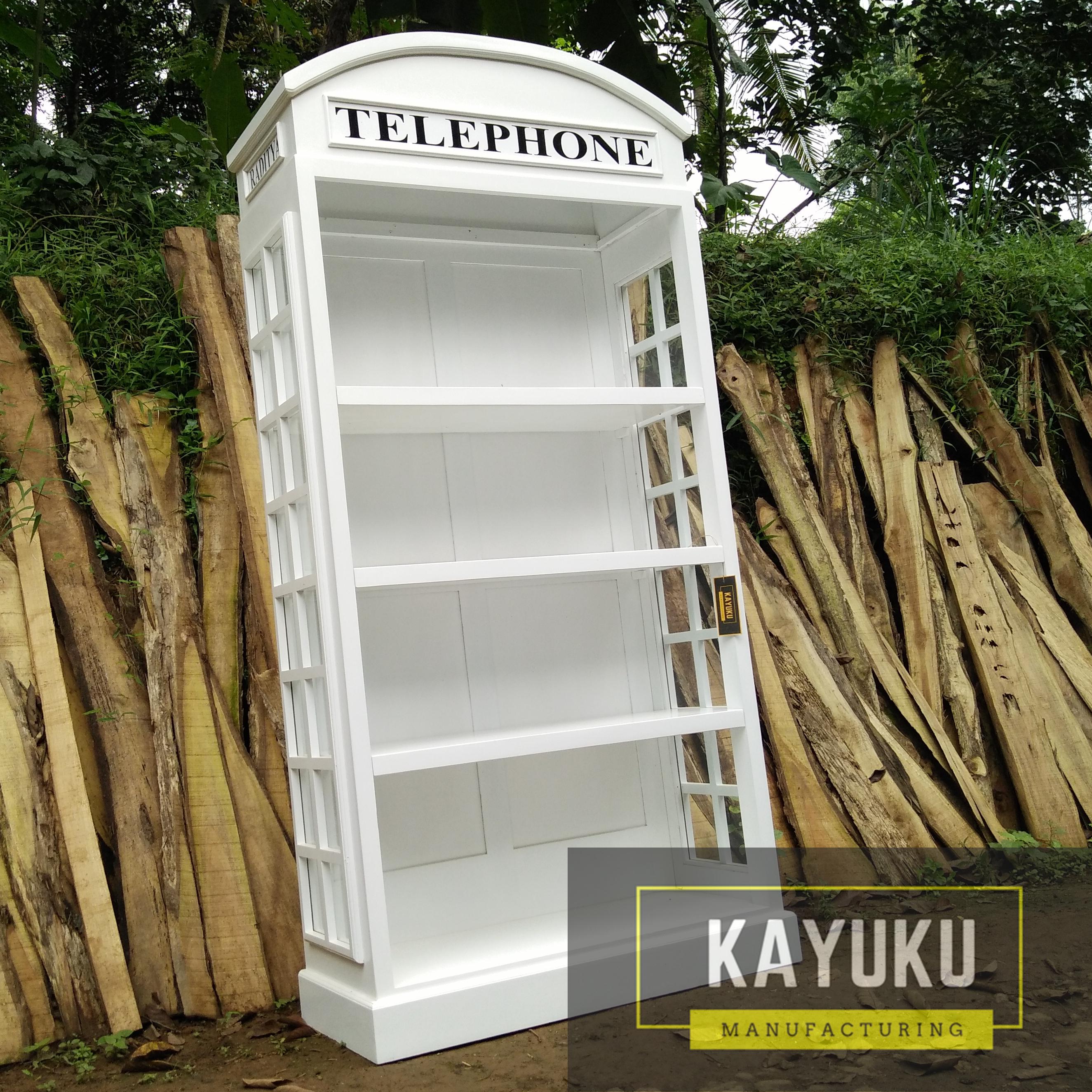 Lemari Buku Telephone 3