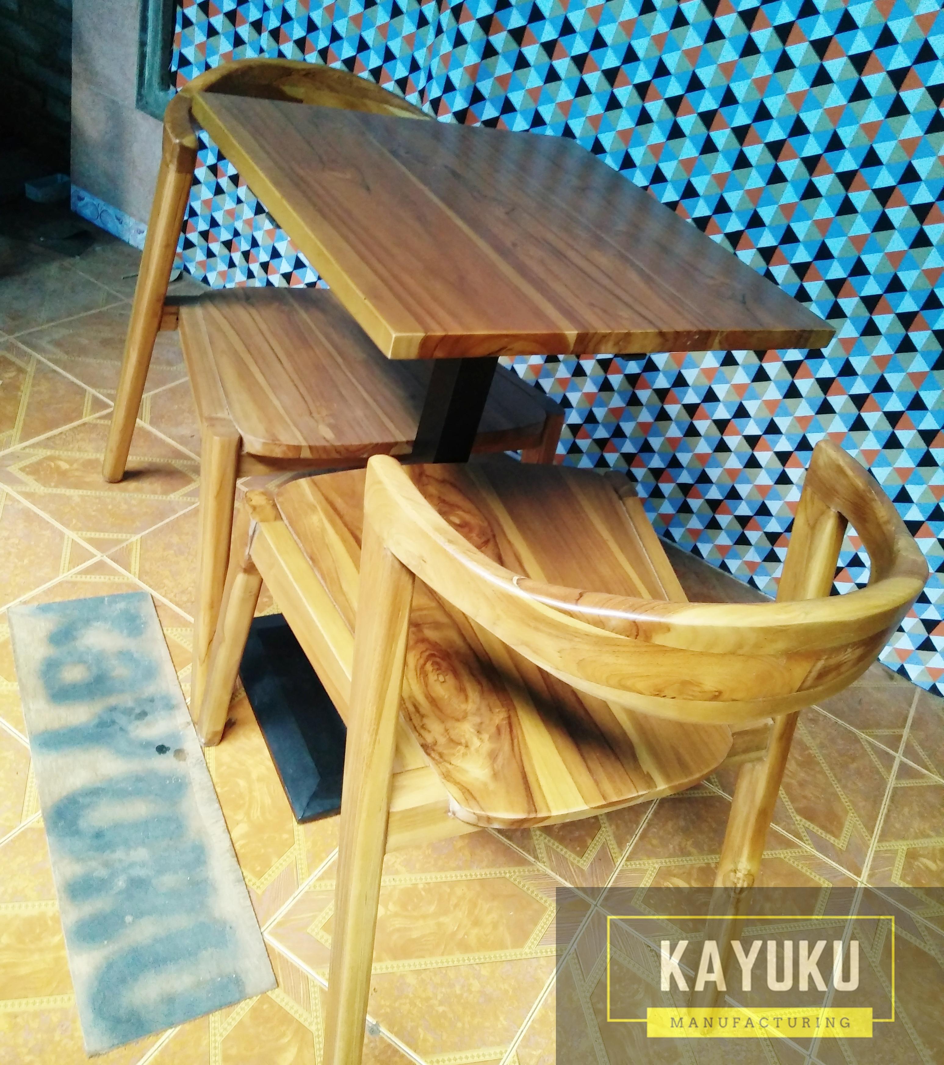 Set Kursi Cafe Natural (2)