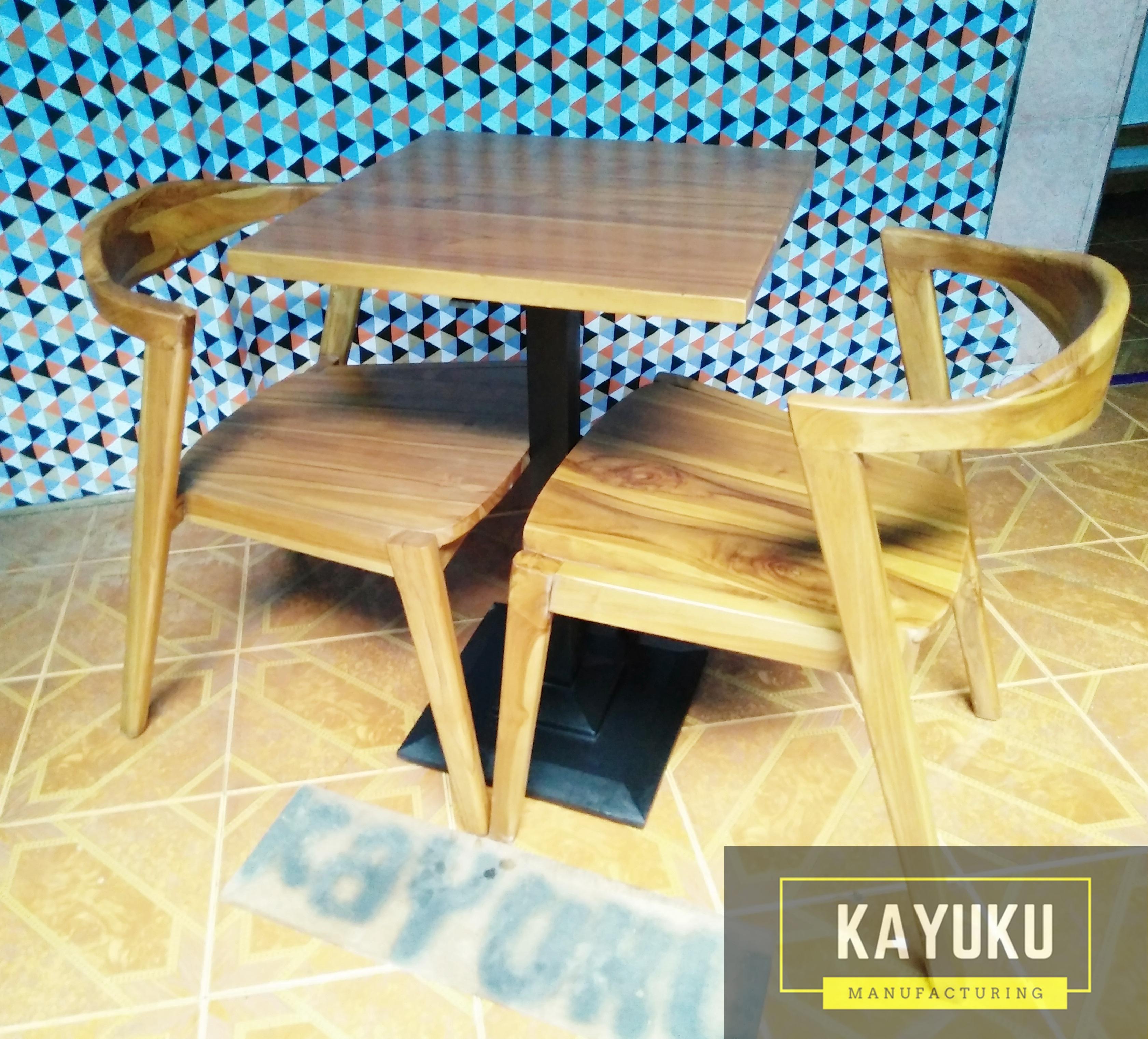 Set Kursi Cafe Natural