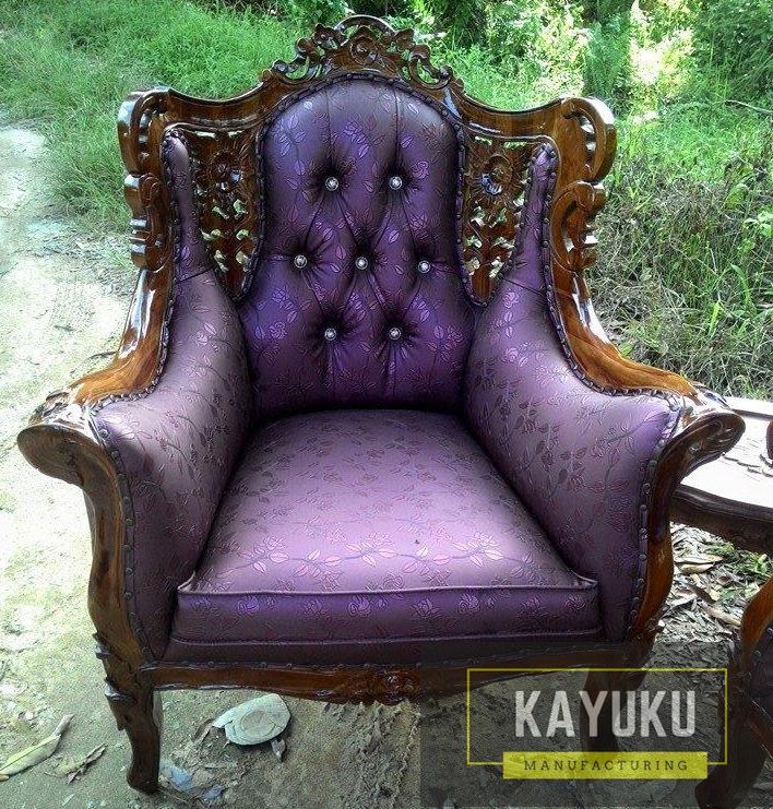 Set Sofa Tamu Ukir Mewah (2)