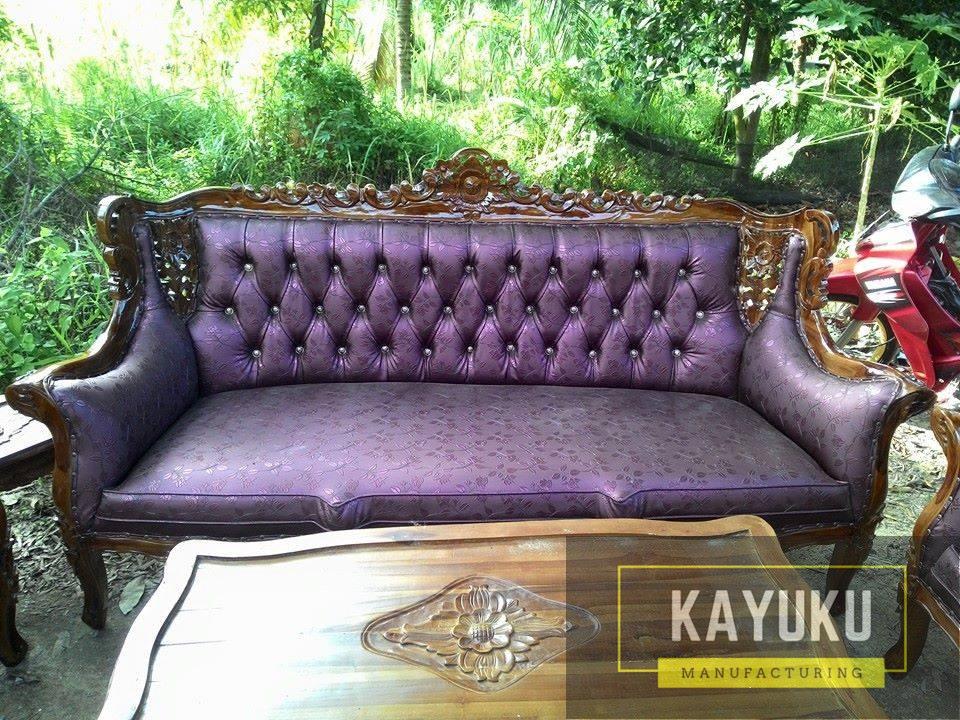 Set Sofa Tamu Ukir Mewah (3)