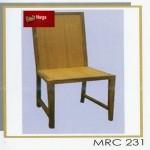 Kursi Minimalis Tanpa Tanganan + Sandaran Panjang MRC 231